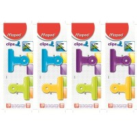 Maped Bulldog Assorted Clips 2 pieces
