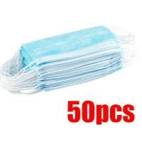 Disposable Surgical Mask 3-Ply 50x