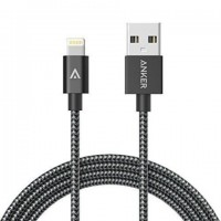 Anker 6ft Nylon Braided USB Cable with Lightning Connector [Apple MFi Certified] for iPhone 6s Plus / 6 Plus, iPad Pro Air 2 and More