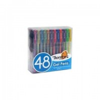 Premium Assorted Colors Gel Pen, 48/Pack