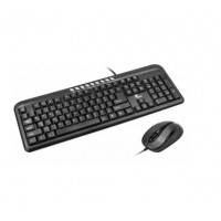 XTK-300EMultimedia Keyboard and Mouse Wired Combo | USB English