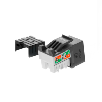 Nexxt Keystone Jack Module Cat6 Type 110 - Black