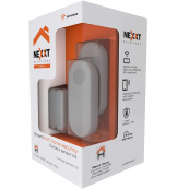 Nexxt Smart Home WiFi Contact Sensor Kit- Includes 2 Contact sensors- [Requires Alarm Siren Starter kit]