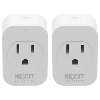 Nexxt Smart Wi-Fi Outlet Plug 110V - 2Pack