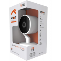 Nexxt Smart Home WiFi Fixed 1080p Camera- Night Vision-Motion Sensor-App alerts- Micro SD Recording