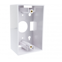 Nexxt Surface Mount Box 1Gang 2x4in White