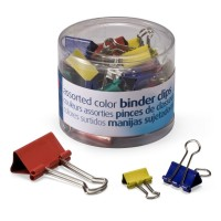 OIC CLIP BINDER CUPS AST