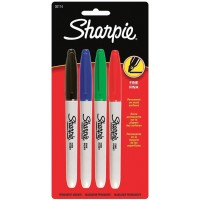 SAN MARKER SHARPIE FINE SET OF 4