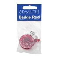 Advantus Translucent Retractable ID Card Reels