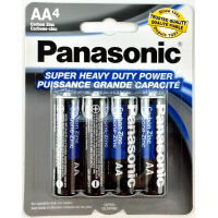Panasonic Everyday Power AA Alkaline Battery 4x