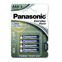 Panasonic Everyday Power AAA Alkaline Battery 4x