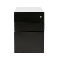 POLLUS 3 DRAWER BLACK BY MESA