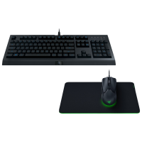 Razer Level Up Gaming Bundle with Keyboard, Mouse & Mousepad