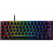 Razer - Huntsman Mini 60% Wired Gaming Clicky Optical Switch Keyboard with RGB Chroma Backlighting - Black