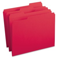 SMD FOLDER 1/3CUT LTR RED