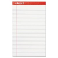 UNIVERSAL NOTE PAD LEGAL PERFORATED YELLOW 1X