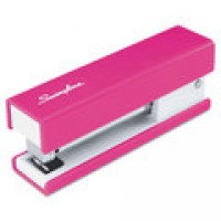 SWINGLINE HALF STRIP STAPLER  - PINK