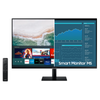 Samsung 27in M5 FHD Smart Monitor with Streaming TV