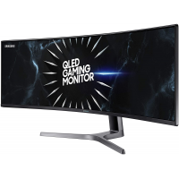SAMSUNG LC49RG90SSNXZA 49-Inch CRG9 Curved Gaming Monitor, Black