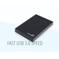 Seagate Expansion 2TB USB 3.0 Portable Hard Drive - Black.