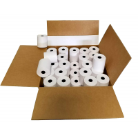 "Thermamark RPB3.0-165 Consumables, Bond Receipt Paper, 3""(57 mm) x 165'(50.29M), 0.85"" Core, 2.89""(73.41 mm) Od, White, 50 Rpc"