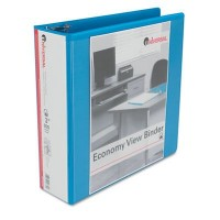 UNIVERSAL D-RING VIEW BINDER 21N WHITE