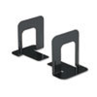 UNIVERSAL BOOKEND NONSKID BLACK