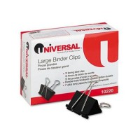 UNIVERSAL CLIP BINDER SMALL 3/PK
