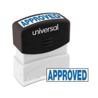 UNIVERSAL STAMP APPROVED BLUE