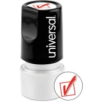 UNIVERSAL STAMP RED CHECKMARK