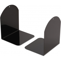 Universal Magnetic Bookends 6x5x7 Metal Black