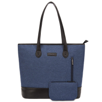 UtoteBag Women Laptop Tote Bag 15.6in Blue