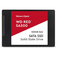 "Western Digital 500GB WD Red SA500 NAS 3D NAND Internal SSD - SATA III 6 Gb/s, 2.5""/7mm, Up to 560 MB/s - WDS500G1R0A"