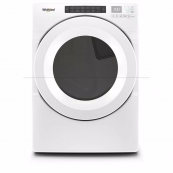 Whirlpool 7.4 cu. ft. 120-Volt White Gas Vented Dryer with Intuitive Touch Controls - ENERGY STAR