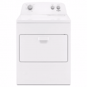 Whirlpool 7.0 cu. ft. 120-Volt White Gas Dryer with AutoDry Drying System - Front Load