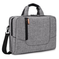 BRINCH 15.6 INCH LAPTOP BAG GREY