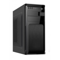 XTECH ATX case with power supply 600W Black