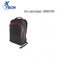 XTech Laptop Backpack Black/Red 15.6in