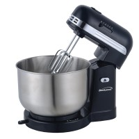 Brentwood 5-speed Stand Mixer Retro - Black
