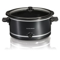 Hamilton Beach 8 Quart Large Capacity Slow Cooker- Black