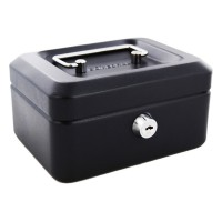 JSSMST CASH MONEY BOX BLK SML