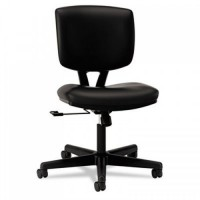 HON 5701SB11T Volt Series Leather Tilt Task Chair, Swivel, Pneumatic Seat Height