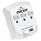 FORZA 3 OUTLET WALL TAP USB