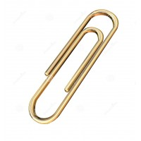 5ST P-CLIP GOLD 26MM 1500X