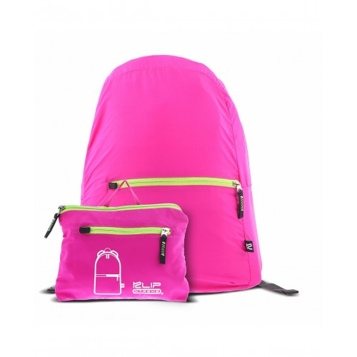 KLIPX NYLON BACKPACK NEON PINK