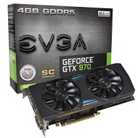 EVGA GeForce GTX970 4GB SSC Gaming Cooling Graphics Card
