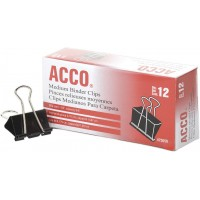 ACCO Binder Clips, Medium