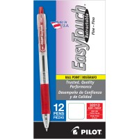 PILOT PEN EASYTOUCH RED 12X