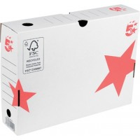 5 Star Storage Box 25 ft x 33 x 8 cm (H x L x b)