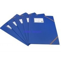 5 STAR DOCUMENT A4 FILE FOLDER BLUE 5/PACK